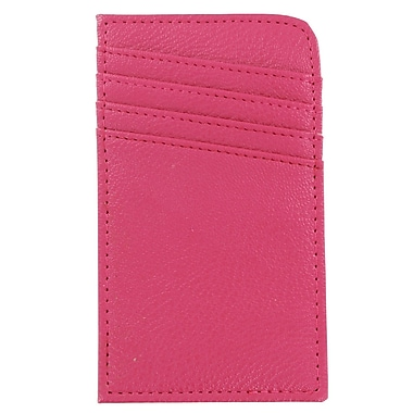 Scan Safe Lady RFID Credit Card Case, Raspberry, (SCON-RSP)