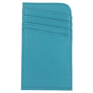 ScanSafe - Étui RFID pour cartes de crédit, bleu sarcelle (SCON-TEA)