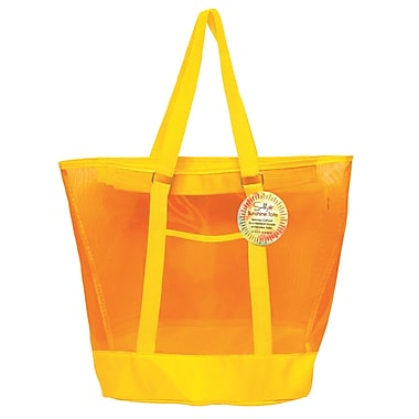 SunLily - Grand sac fourre-tout, jaune et orange (SLTOT-YEL)