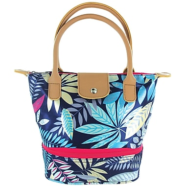 Tempamate Insulated Lunch Tote Bag, Tropical Navy (TMLNH-LVB)