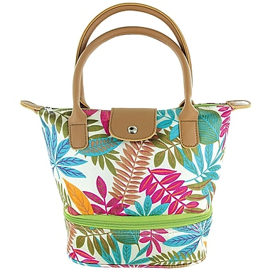 Tempamate Insulated Lunch Tote Bag, Tropical White (TMLNH-LVW)