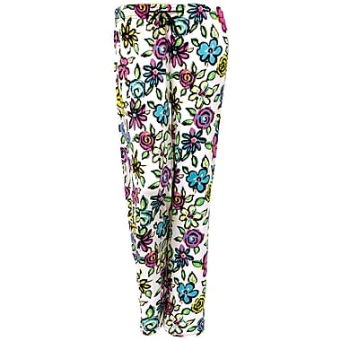 Hello Mellow Lounge Pants, Medium, Floral Fits Size 8-12