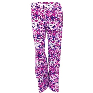 Hello Mellow Lounge Pants, Small, Purple/Pink/Aqua Fits Size 4-8