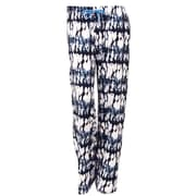 Hello Mellow Lounge Pants, Black/White/Blue