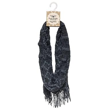 Britts Knits Knitt Infinity Scarf, Charcoal (BKFB-CHC)
