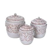Jeco Inc. Metal Lidded Jar; Medium