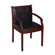 Regency Regent Vinyl Side Chair, Mahogany (9875MHL)