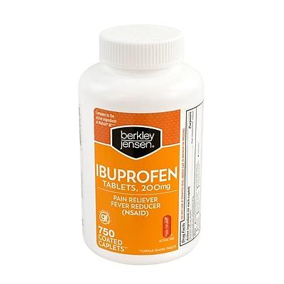 Berkley Jensen Ibuprofen Tablets, 200mg, 750 Count