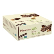thinkThin Protein Nut Bars Dark Chocolate, 1.4 oz, 10 Count