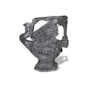 Amedeo Design ResinStone Swan Chair; Charcoal