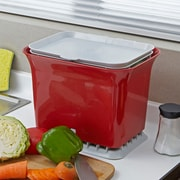 Full Circle 1.5 cu. ft. Kitchen/Countertop Composter; Ruby Red