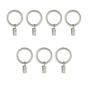 """Umbra 1.25"""" Clip Rings Set of 7 Nickel (244700-410)"""
