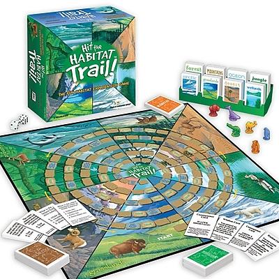 Jax Hit The Habitat Trail Game, Grades 3 - 6
