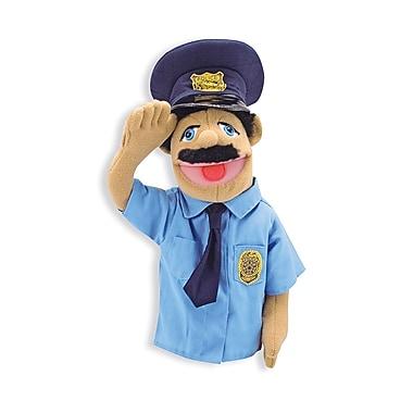 Melissa & Doug – Marionnette en forme de policier (LCI2551)