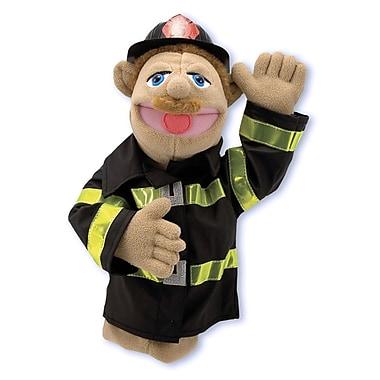 Melissa & Doug Firefighter Puppet (LCI2552)