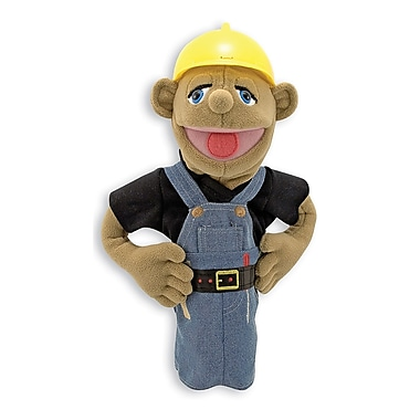 Melissa & Doug Construction Worker Puppet (LCI2555)