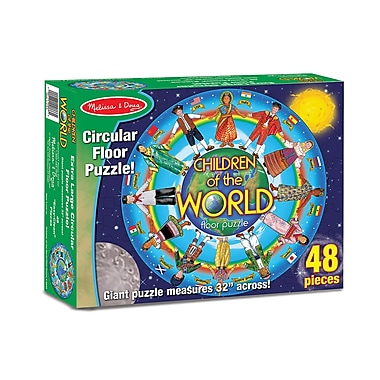Melissa & Doug Children Of The World Floor Puzzle (LCI2866)