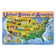Melissa & Doug® Early Childhood Puzzles, USA Map