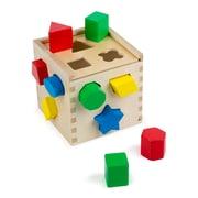 Melissa & Doug Shape Sorting Cube Classic Toy, 14/Pack (LCI575)