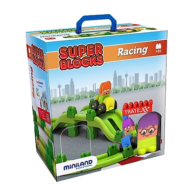 Miniland Educational Track 2 Blocks Super Set