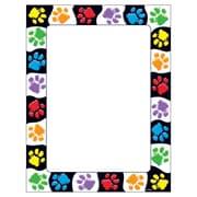 """Terrific Papers® Paw Prints 8 1/2"""" x 11"""" Multicolor, 50 shts (T-11419)"""