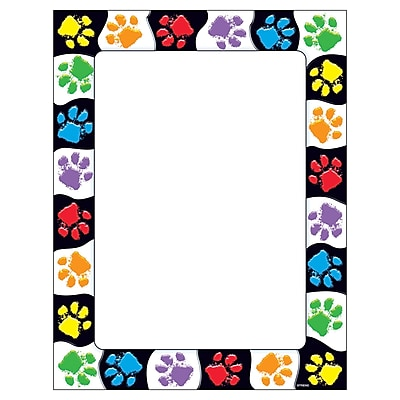 Terrific Papers® Paw Prints 8 1/2