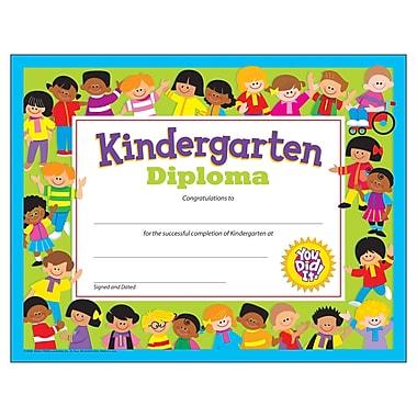 Trend Enterprises® Kindergarten Diploma, 8 1/2