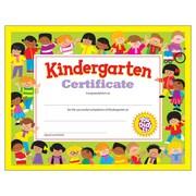 "Trend Enterprises® Kindergarten Diploma Certificate, 8 1/2""(L) x 11""(W)"