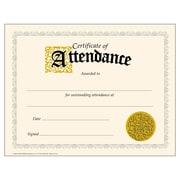 "Trend Enterprises® Certificate of Attendance, 8 1/2""(L) x 11""(W)"