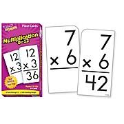 Flash Cards, Trend® Multiplication 0-12 Skill Drill Flash Cards
