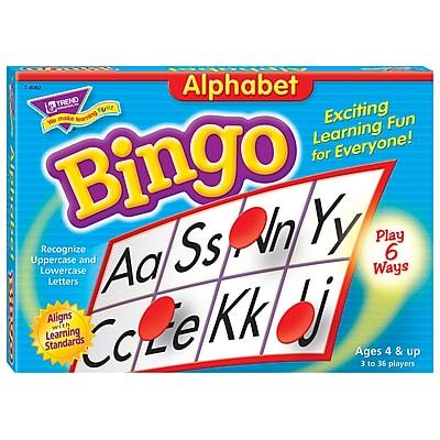 Trend® Bingo Games, Alphabet