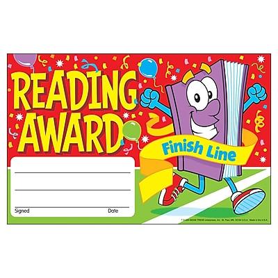 Awards, Reading - Finish Line Recognition Awards, 30/Pkg