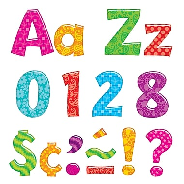 Trend Enterprises T-79756 Playful Combo Ready Letters, Assorted (T-79756)