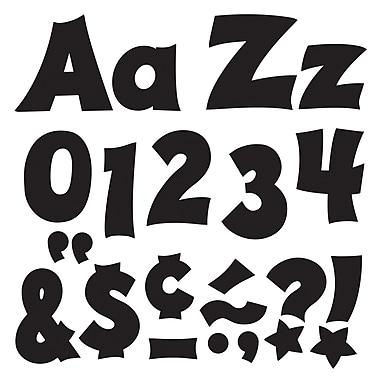Trend Enterprises – Lettres minuscules et majuscules amusantes Ready Letters, assortiment, 4 po, noir, 226/paquet (T-79802)