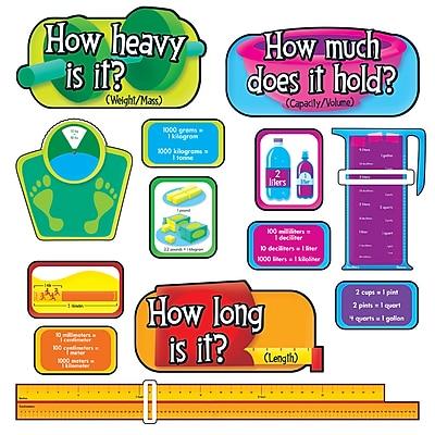 Measurement–U.S. Customary and Metric Bulletin Board Set