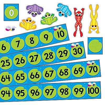 Bulletin Board Sets, Frog Pond Number Line