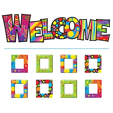 Trend Enterprises® Bulletin Board Set, Razzle-Dazzle Welcome