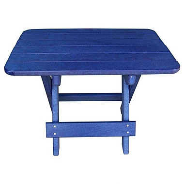 Buyers Choice Phat Tommy Side Table; Marina Blue