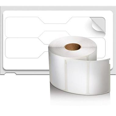 DYMO® – Étiquettes de bijouterie LabelWriter de style haltère, 3/8 po x 3/4 po, blanc, rouleau/1500 (30299)
