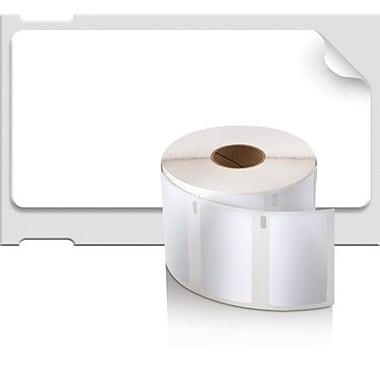 DYMO® - Étiquettes LabelWriter multiusages, 1 x 1 1/2 po, blanc, rou./750 (30347)