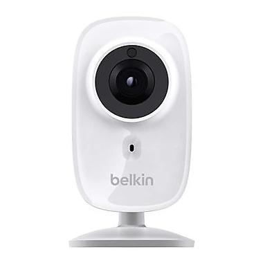 Belkin NetCam HD+ WiFi Indoor/Outdoor 720p IP Camera, White