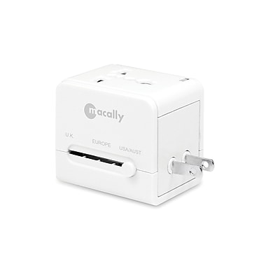 MacAlly - Adaptateur d'alimentation universel international