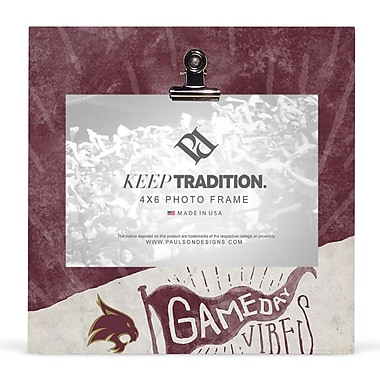 Paulson Designs 'NCAA' Picture Frame; Texas State