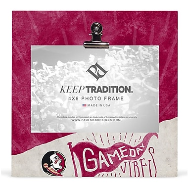Paulson Designs 'NCAA' Picture Frame; Florida State
