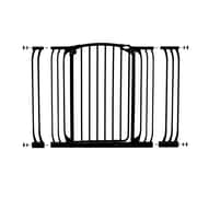 Dreambaby Chelsea Tall Xtra Hallway Swing Closed Gate Combo Pack; Black