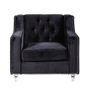 Chic Home Furniture Dylan Club Chair; Black