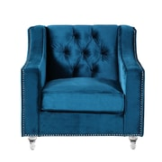 Chic Home Furniture Dylan Club Chair; Blue