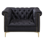 Chic Home Furniture Winston Club Chair; Black