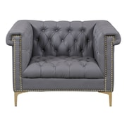 Chic Home Furniture Winston Club Chair; Gray
