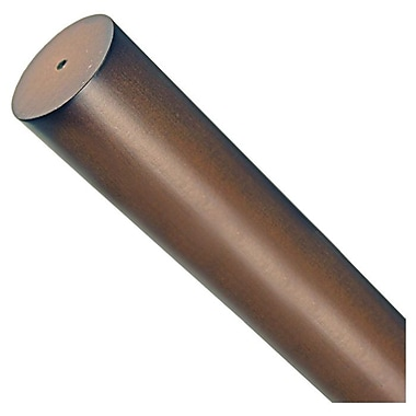 Menagerie Simplicity Curtain Single Rod; 2'' H x 96'' W x 2'' D